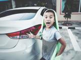Что делать, если дети поцарапали машину