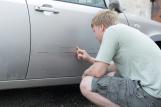 Как оформить КАСКО, если сам поцарапал машину